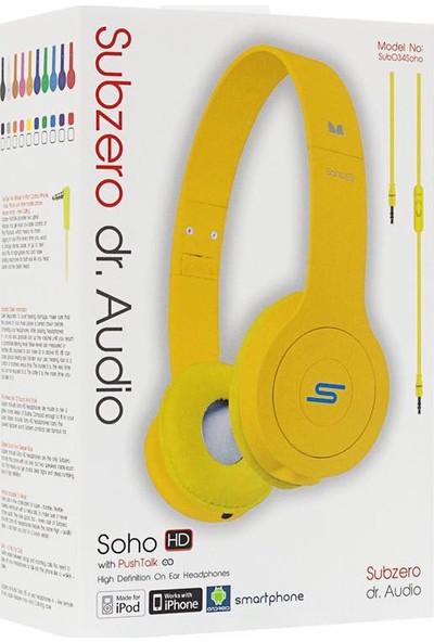 Subzero Soho Dr. Audio Mikrofonlu Kulaklık Sarı