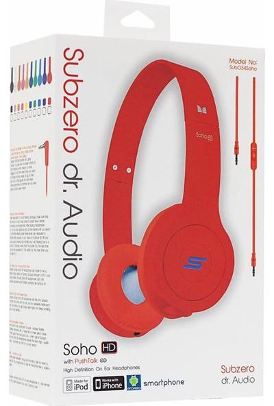 Subzero Soho Dr. Audio Mikrofonlu Kulaklık Kırmızı