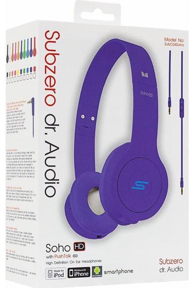 Subzero Soho Dr. Audio Mikrofonlu Kulaklık Lila
