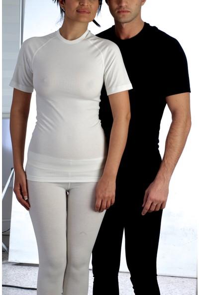 Fai Kısa Kol 0 Yaka Termal T-shirt