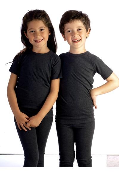 Fai Kısa Kol Çocuk Termal T-shirt