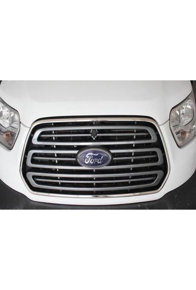 Spider Ford Transit 7 Ön Panjur Çerçevesi 2 Parça Paslanmaz Çelik 2014 Üzeri Modeller