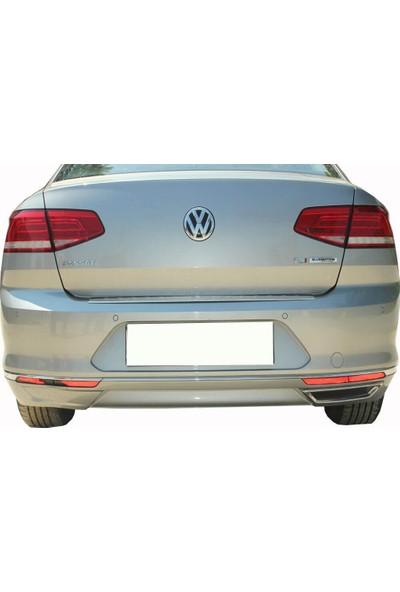 Spider Volkswagen Passat B8 Arka Tampon Alt Çıtası 3 Parça 2015 Üzeri Modeller