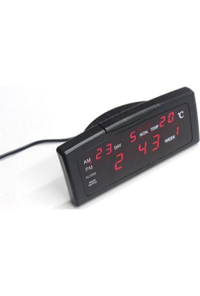 Wt Led Dijital Saat Tarih Alarm Sıcaklık 150366