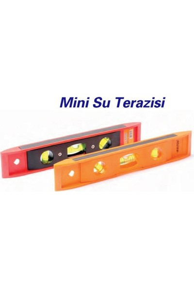 Toolux 6'lı Paket 25 Cm Mini Su Terazisi 090908