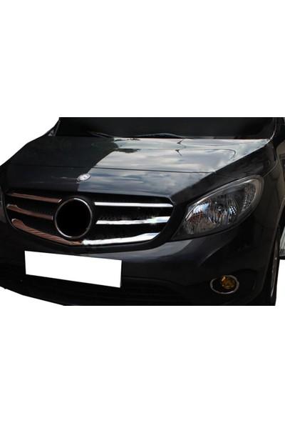 Spider Mercedes Citan Ön Panjur 5 Parça Paslanmaz Çelik 2013 Üzeri Modeller