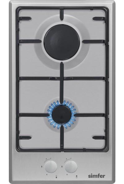 Simfer 3250 İkili Domino Ankastre Ocak