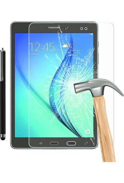 KılıfShop Samsung Galaxy Tab A 10.1 P580 Kırılmaz Ekran Koruyucu + Dokunmatik Kalem