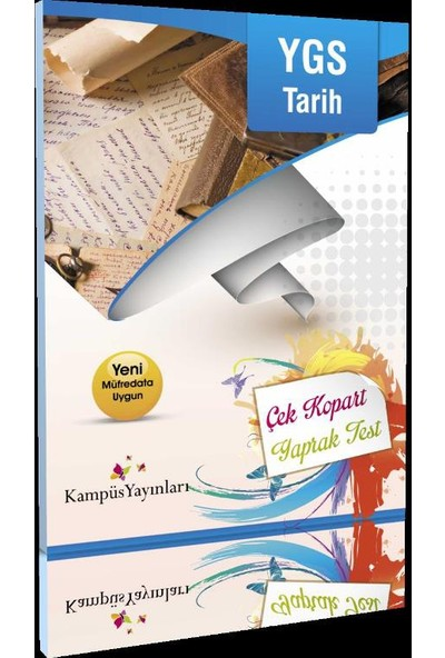 Kampüs Yayınları Ygs Tarih Çek Kopart Yaprak Test