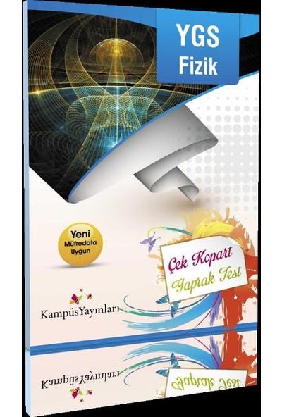 Kampüs Yayınları Ygs Fizik Çek Kopart Yaprak Test