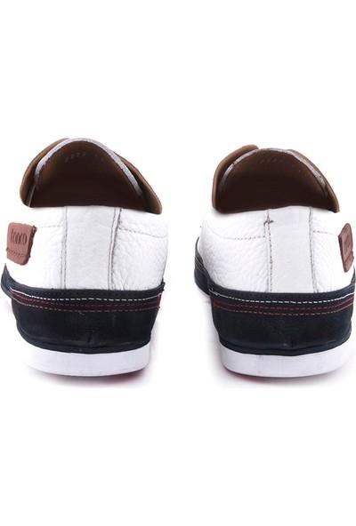 Kemal Tanca Erkek Casual Ayakkabı Beyaz