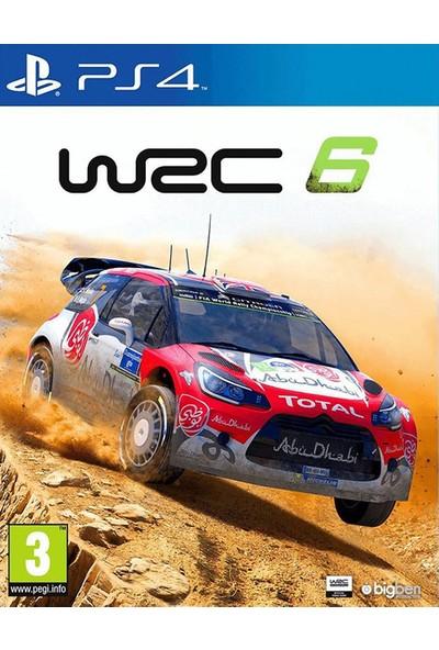 WRC 6 PS4 Oyun
