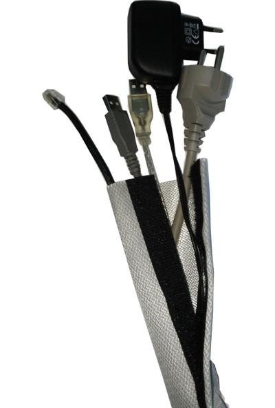 3E Cırtlı 10metre Yanmaz Kablo Toplayıcı Kılıf