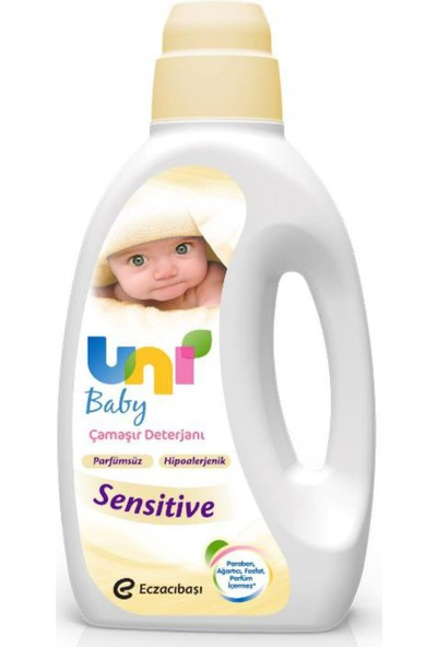 Uni Baby Çamaşır Deterjanı Sensitive 1500 ML