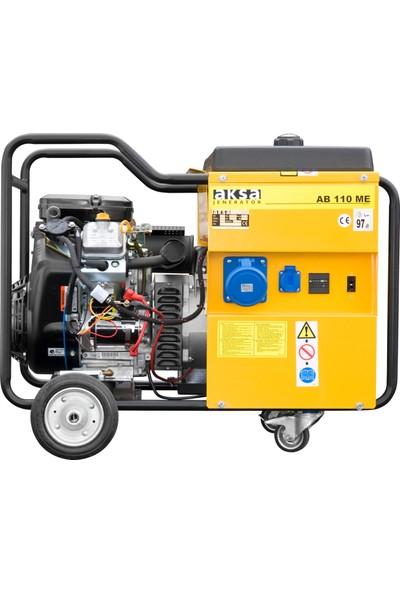 Aksa 11 Kva AB 110 TE Trifaze Benzinli Marşlı Portatif Jeneratör