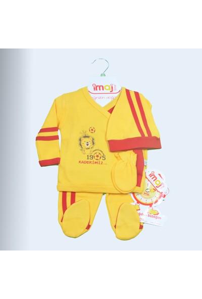 İmaj Galatasaray Bebek Hastane Çıkışı Yeni Doğan Set 5'li İmaj 0597Gs