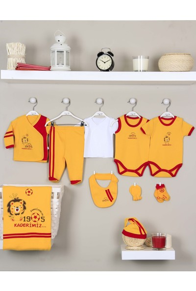 İmaj Galatasaray Bebek Hastane Çıkışı Yeni Doğan Seti 10'lu İmaj