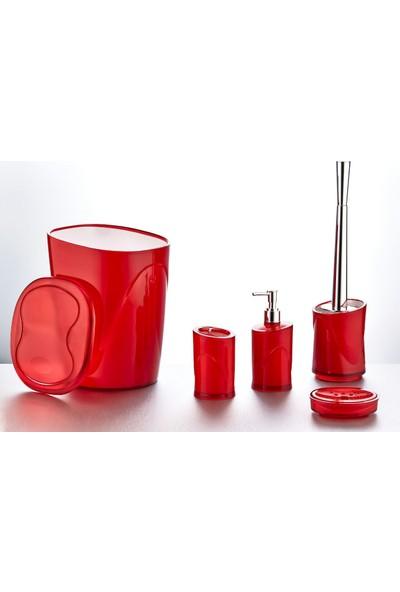 Hiper 5 li Banyo Seti Kırmızı