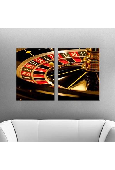 Eslim İ169 Poker Parçalı Tablo 50X75 Cm