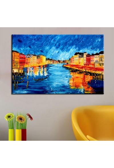 Eslim T149 Venedik Yağlı Boya Kanvas Tablo 100X150 Cm