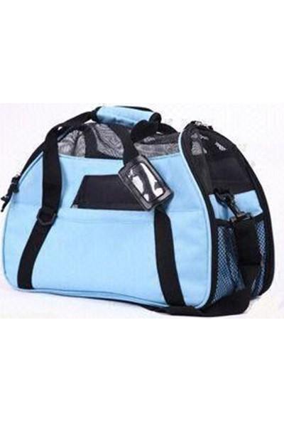 Senful Konforlu Pet Taşıma Çantası 41X20X29 Cm Mavi