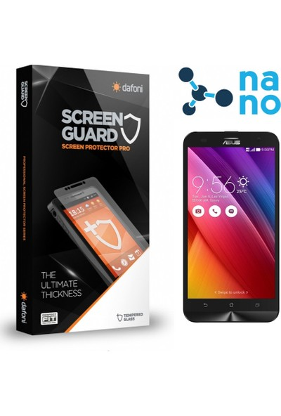 Dafoni Asus Zenfone 2 Laser ZE551KL Nano Glass Premium Cam Ekran Koruyucu