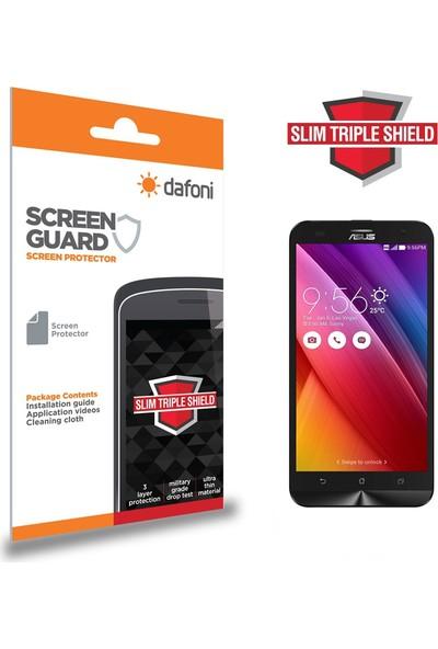 Dafoni Asus Zenfone 2 Laser ZE551KL Slim Triple Shield Ekran Koruyucu