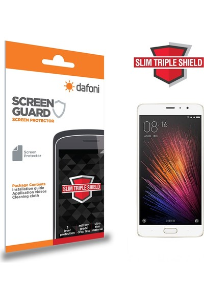 Dafoni Xiaomi Redmi Pro Slim Triple Shield Ekran Koruyucu