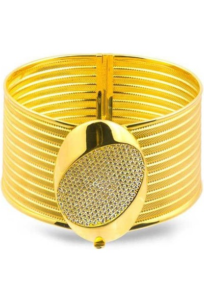 Bilezikhane Rize Hasır Kelepçe 10 Sıra 42,00 Gram 22 Ayar Altın