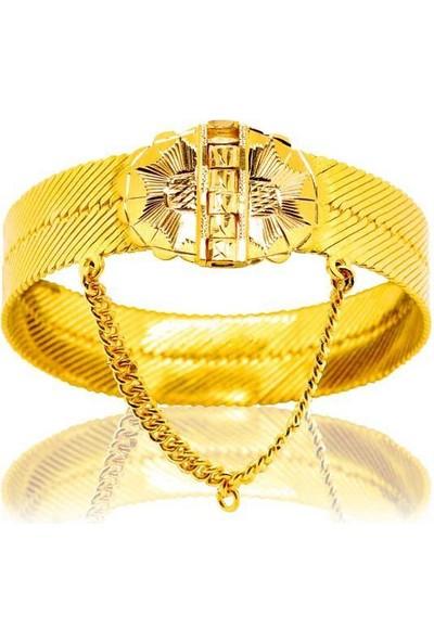 Bilezikhane Diyarbakır Hasır Kelepçe 72,50 Gram 22 Ayar Altın