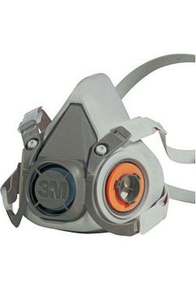 3M 6200 Yarım Yüz Maskesi (Orta Boy)