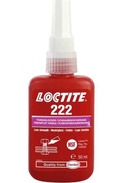 Loctite 222 Civata Sabitleyici Kolay Sökülebilir 50Ml