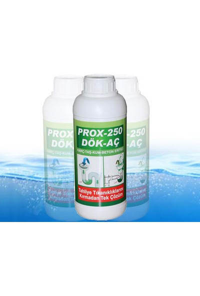 Prox-250 1 Kg Harç,Taş,Kum,Beton Eritici