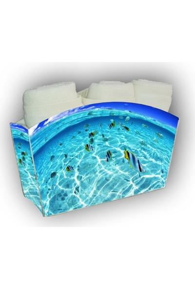Melay Okyanusun Kalbi 3'Lü Havlu Set