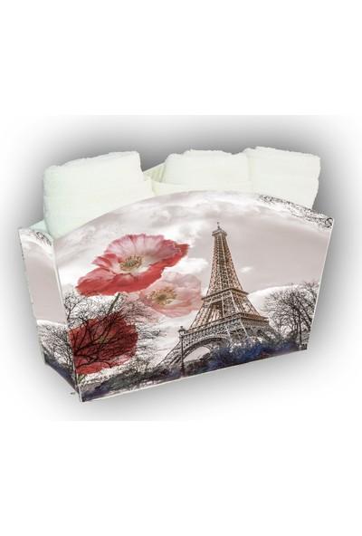 Melay Paris Rüyası 3'Lü Havlu Set
