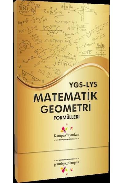 Kampüs Yayınları Ygs-Lys Matematik Geometri Formülleri