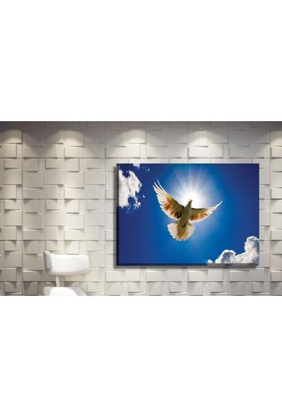 Pia Hediyelik Kanvas Tablo Güvercin Kuş Model