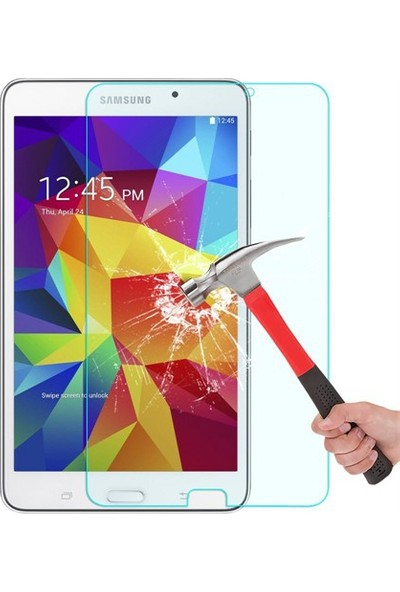 Essleena Tempered Samsung Galaxy Tab E T560 Kırılmaz Cam Ekran Koruyucu - Tempered Glass