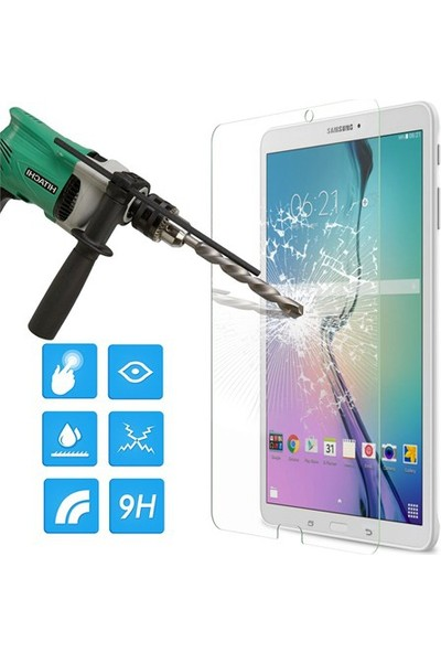 Miray Tempered Samsung Galaxy Tab 4 T530 (10.1) Kırılmaz Cam Ekran Koruyucu - Tempered Glass