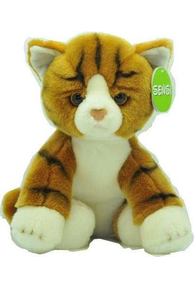 Sensi Sarı Kedi Peluş 30cm