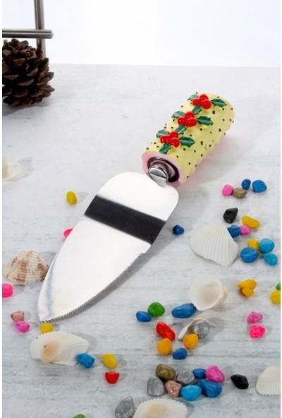 LoveQ Polyester Pasta Spatula Ckr-Yk-891-Krem