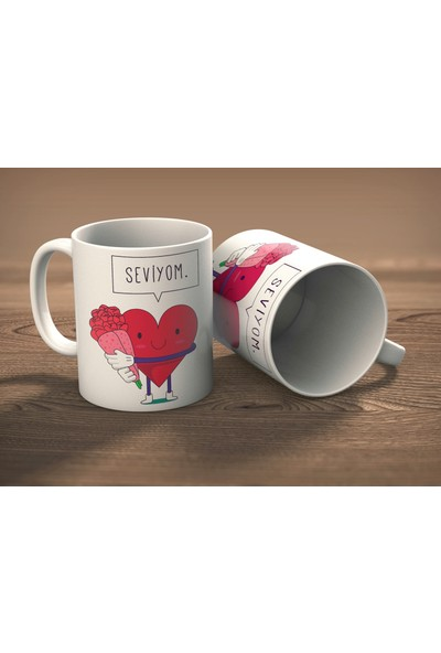 Juno Seviyom İkili Sevgililer Günü Hediye Kupa