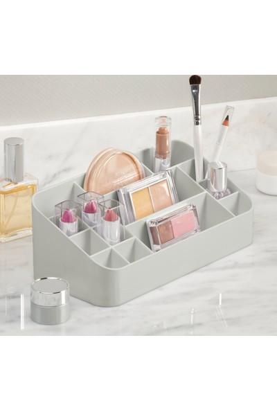 Kozmetik ürün düzenleyici çok bölmeli organizer