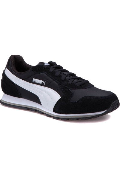 Puma St Runner Nl-1 Siyah Beyaz Erkek Sneaker