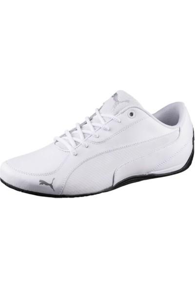 Puma Beyaz Erkek Ayakkabısı 36241603 Drift Cat 5