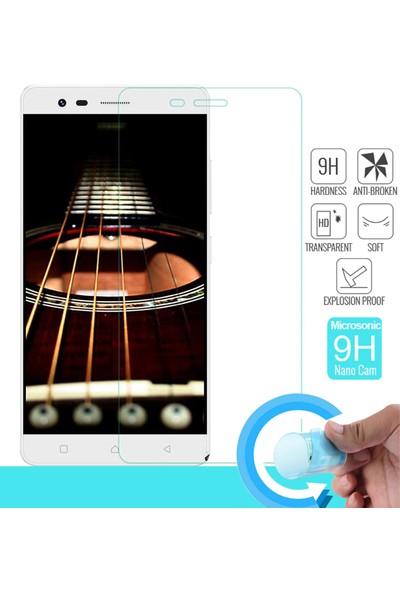 Microsonic Lenovo Vibe K5 Note Nano Cam Ekran koruyucu film
