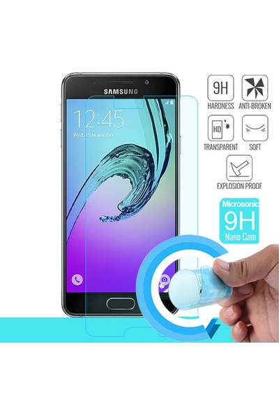 Microsonic Samsung Galaxy A5 2016 Nano Cam Ekran koruyucu film