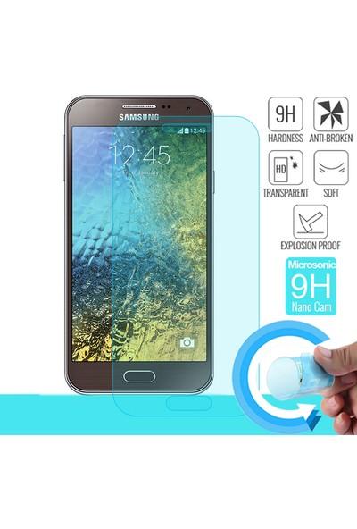 Microsonic Samsung Galaxy E5 Nano Cam Ekran koruyucu film