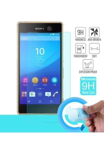 Microsonic Sony Xperia M5 Nano Cam Ekran koruyucu film