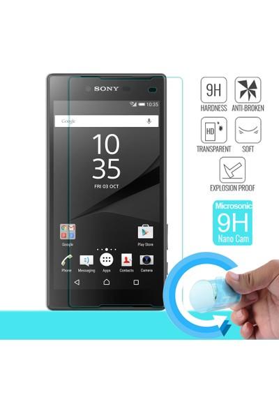 Microsonic Sony Xperia Z5 Compact Nano Cam Ekran koruyucu film
